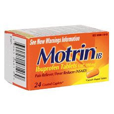 Motrin IB Pain Reliever/Fever Reducer, 200 mg - OutpatientMD.com