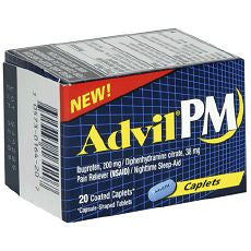Advil PM Pain Reliever / Nighttime Sleep-Aid - OutpatientMD.com