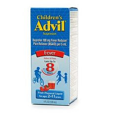 Advil Children's Ibuprofen Fruit Oral Suspension