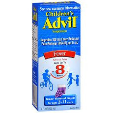 Advil Children's Grape Ibuprofen Oral Suspension