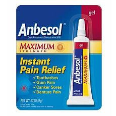 Anbesol Maximum Strength Oral Anesthetic Gel