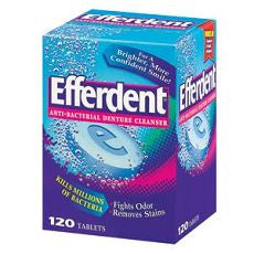 Efferdent Anti-Bacterial Denture Cleanser, Tablets - OutpatientMD.com