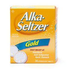 Alka-Seltzer Antacid Relief Gold Effervescent Tabs