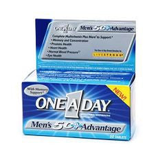 One-A-Day Men's 50+ Advantage, Tablets 50 ea - OutpatientMD.com