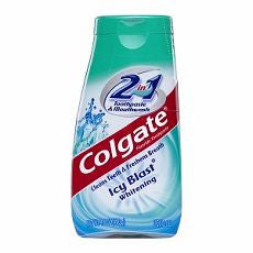 Colgate 2 in 1 Toothpaste & Mouthwash, Whitening