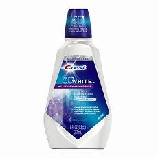 Crest 3D Multi-Care Whitening Rinse, 8 oz - OutpatientMD.com