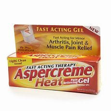 Aspercreme Heat Pain Relieving Gel, Fast Acting - OutpatientMD.com