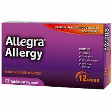 Allegra 12 Hour Allergy, Tablets 12 ea - OutpatientMD.com