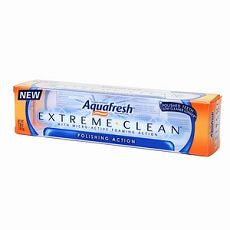 Aquafresh Extreme Clean Toothpaste, Polishing - OutpatientMD.com