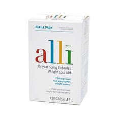 Alli Weight Loss Aid Refill 120's