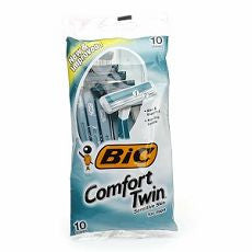 Bic Comfort Twin Shavers, Sensitive Skin 10 ea