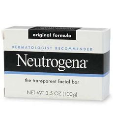 Neutrogena Transparent Facial Bar, Original Soap - OutpatientMD.com