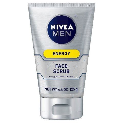 Nivea for Men Energy Face Scrub 4.4 oz (125 g) - OutpatientMD.com