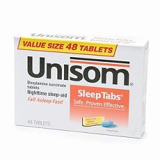 Unisom SleepTabs, Nighttime Sleep-Aid Tablets 48ea - OutpatientMD.com