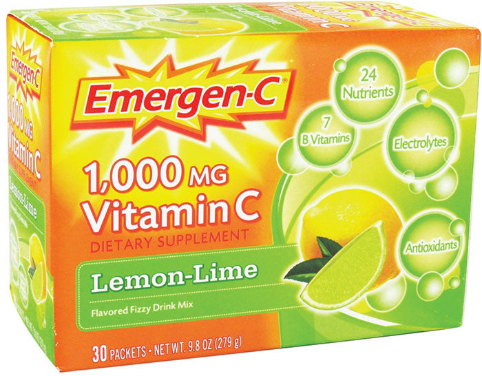 Emergen-C 1000 mg Vitamin C Fizzy Drink, Lemon - OutpatientMD.com