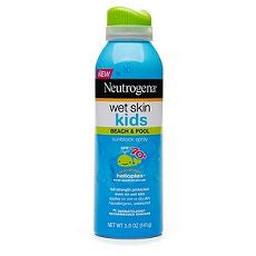 Neutrogena Wet Skin Kids Sunblock Spray, SPF 70