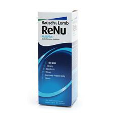 ReNu MultiPlus Multi-Purpose Solution, No Rub 12oz - OutpatientMD.com
