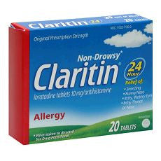 Claritin 24 Hour Allergy, 20 Tablets