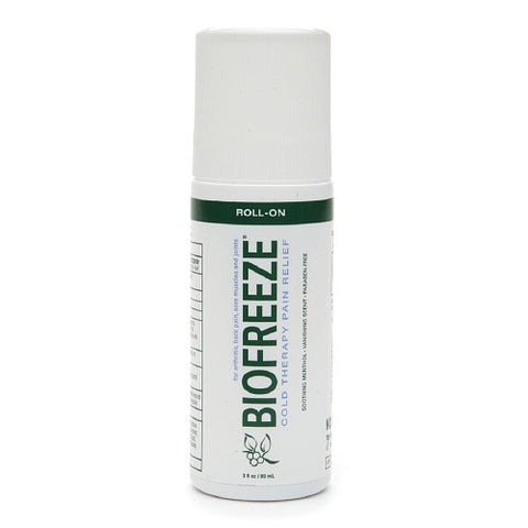BIOFREEZE Cold Therapy Pain Relief, Roll-On 3 fl oz (89 ml)