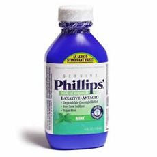 Phillips Milk of Magnesia Laxative / Antacid 4oz - OutpatientMD.com