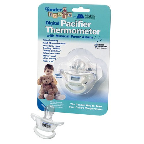TenderTykes Waterproof Digital Pacifier Thermometer