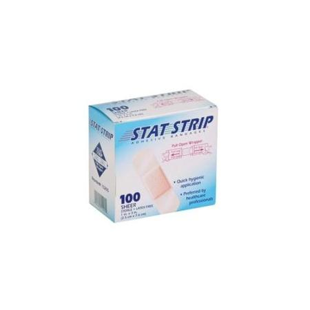 Stat Strip™ Adhesive Bandages 3/4 in. x 3 in. 100/BX