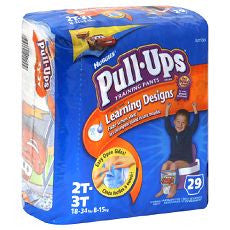 Huggies Pull-Ups Training Pants Boys 2T-3T