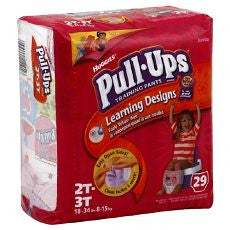 Huggies Pull-Ups Training Pants Girls 2T-3T