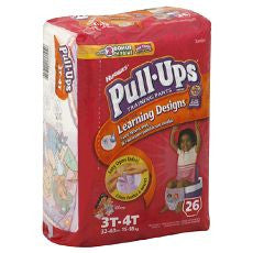 Huggies Pull-Ups Training Pants Girls 3T-4T