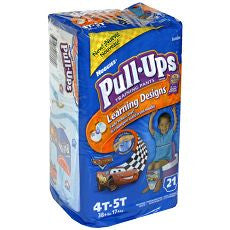 Huggies Pull-Ups Training Pants Boys 4T-5T