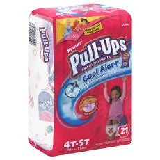 Huggies Pull-Ups Training Pants Girls 4T-5T