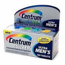 Centrum Ultra Men's Silver Multivitamin Supplement - OutpatientMD.com