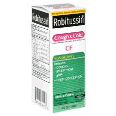 Robitussin Cf Cough & Cold 4Oz - OutpatientMD.com