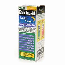 Robitussin Nighttime Cough, Cold & Flu 8 oz - OutpatientMD.com