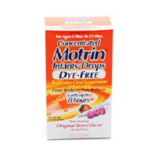 Motrin Infants' Ibuprofen Oral Suspension Dye-Free - OutpatientMD.com