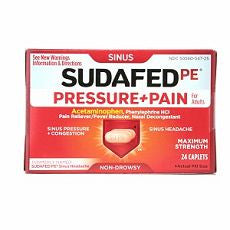Sudafed PE Pressure + Pain Maximum Strength Caps - OutpatientMD.com