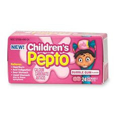 Pepto-Bismol Children's, Chewable Tablets, Bubble - OutpatientMD.com