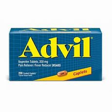 Advil Advanced Medicine, 200mg, Caplets 200's