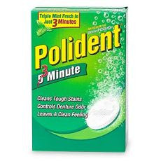 Polident Double Action Denture Cleanser Tablets 84 - OutpatientMD.com