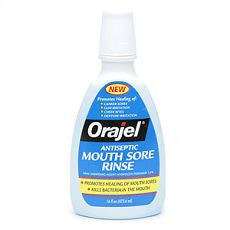 Orajel Antiseptic Mouth Sore Rinse 16 fl oz - OutpatientMD.com