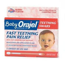 Orajel - Baby Fast Teething Pain Relief, Swabs - OutpatientMD.com