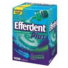 Efferdent Plus Denture Cleanser With FreshBurst - OutpatientMD.com