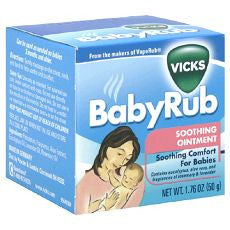 Vicks BabyRub Soothing Ointment - OutpatientMD.com
