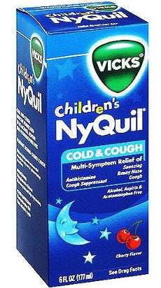Nyquil Children's Cold & Cough Cherry Flavor - OutpatientMD.com