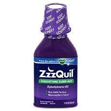 ZzzQuil Nighttime Sleep-Aid Liquid, Warming Berry - OutpatientMD.com