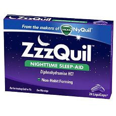 ZzzQuil Nighttime Sleep-Aid LiquiCaps 24 ea - OutpatientMD.com