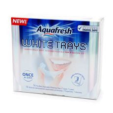 Aquafresh Whitetrays, Disposable, Pre-Dosed Trays