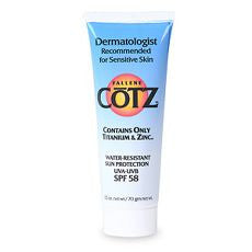 Cotz Sunscreen Water Resistant SPF58 2.5oz