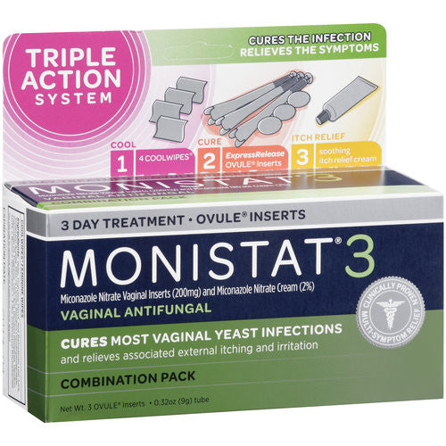 Monistat 3 3-Day Treatment Combination Pack - OutpatientMD.com