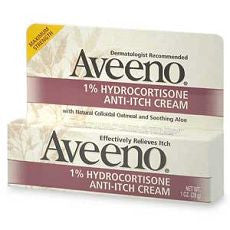Aveeno Maximum Strength Anti-Itch Cream, 1 oz